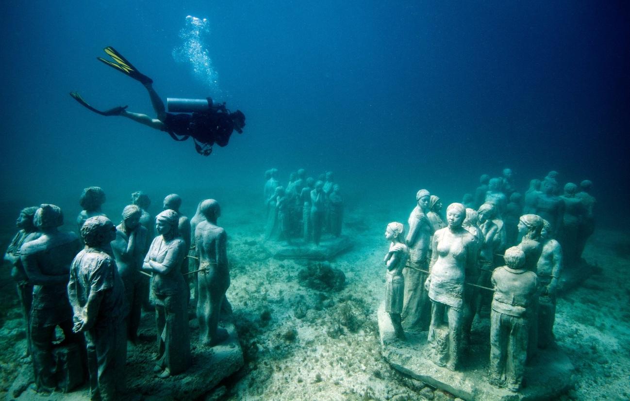 Muito cuidado ao mergulhar em Cancun